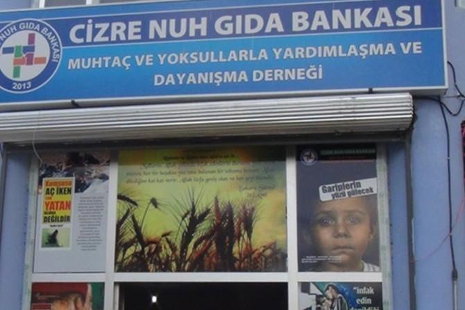 Cizre Nuh Gıda Bankası yıllık faaliyet raporunu açıkladı