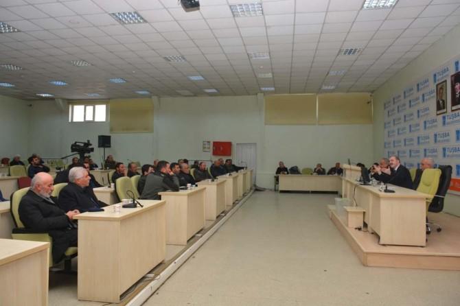 Tuşba Belediye Başkanı Özgökçe sanayi sitesi esnafı ile buluştu