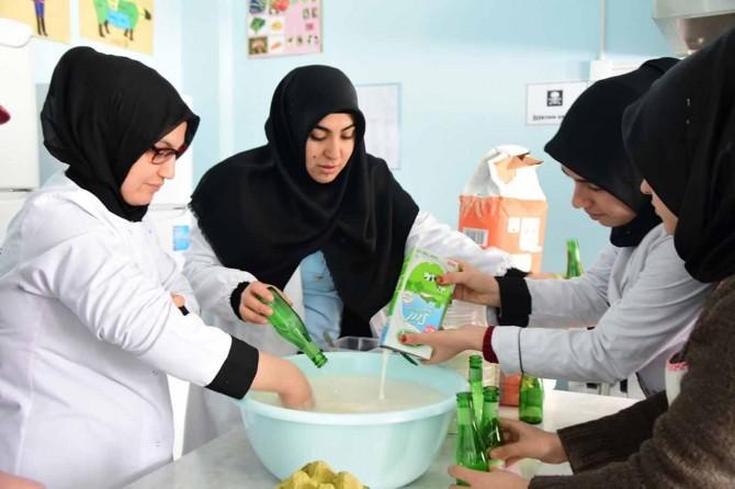 İpekyolu'nda kış ayları aşçılık kursları ile tatlanıyor