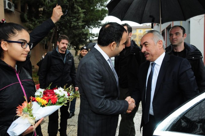 İçişleri Bakan Yardımcısı Mehmet Ersoy'dan Silvan'a ziyaret