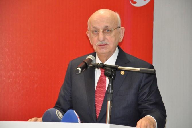 TBMM Başkanı Kahraman: Afrin'deki hadisemiz meşru müdafaadır