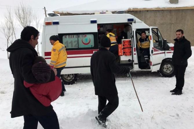 Sümeyye'nin imdadına Büyükşehir Belediyesi ekipleri yetişti