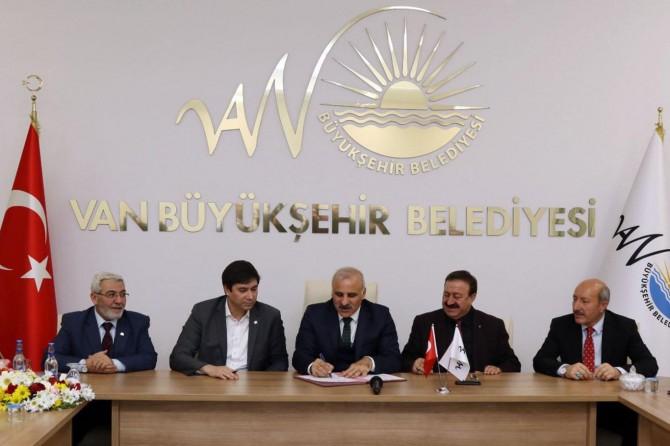 Büyükşehir Belediyesi Sosyal Denge Sözleşmesi yenilendi