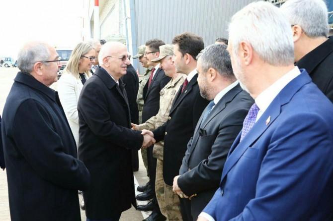 Meclis Başkanı Kahraman Mardin'de