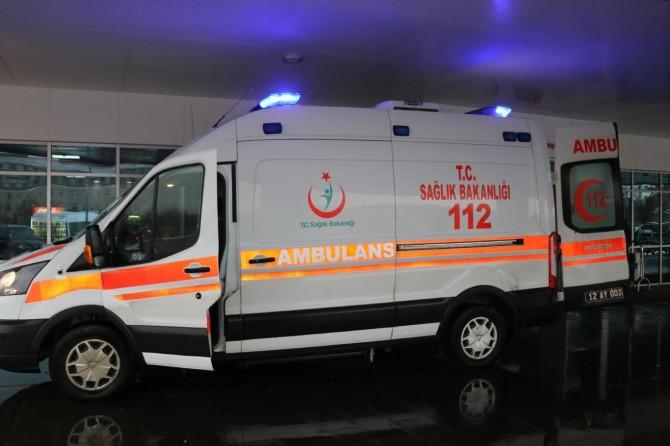 Minibüs yayaya çarptı: Bir ölü