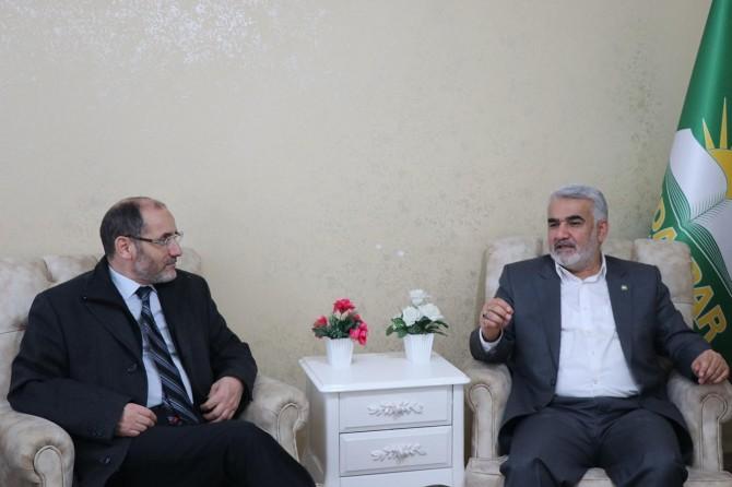 Abderrazak Makri visits HUDA PAR