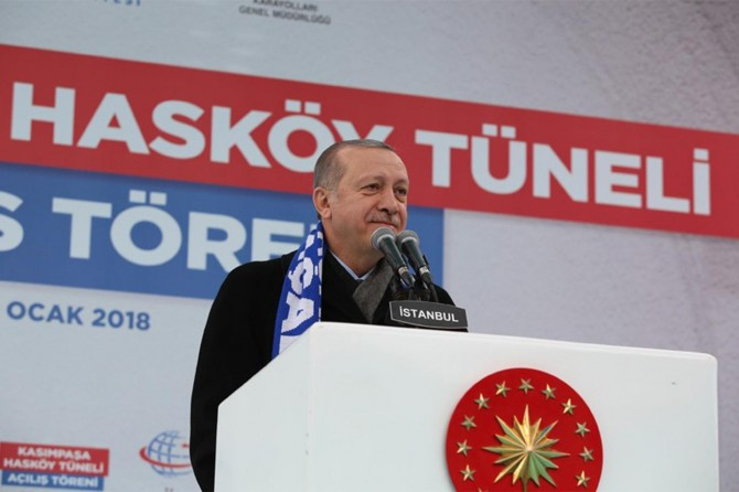 We have 16 losses with the FSA in 8 days: President Erdoğan