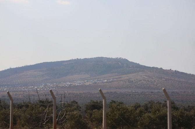 Burseya Dağı'ndaki bazı noktalara top atışları devam ediyor