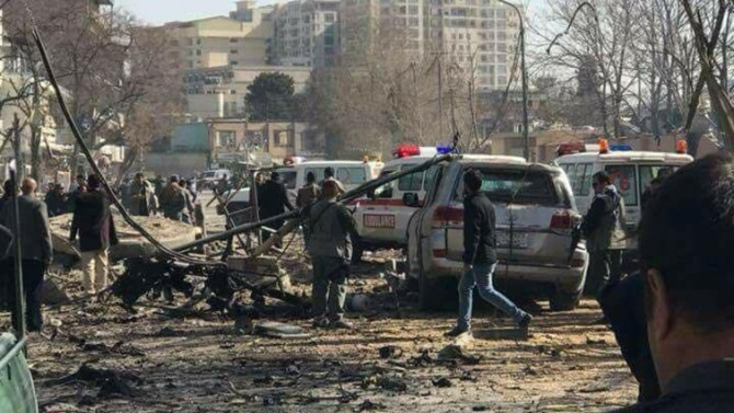 Di êrîşa bombeyî ya li Efxanîstanê de hejmara kesên mirî derket 103 yan