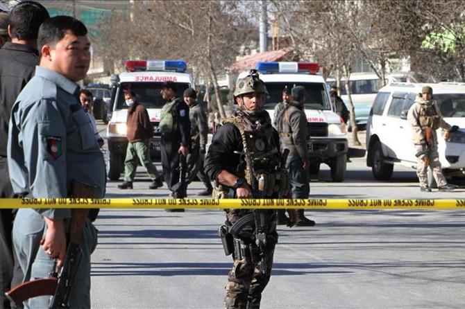 Kabil'de askeri okula silahlı saldırı