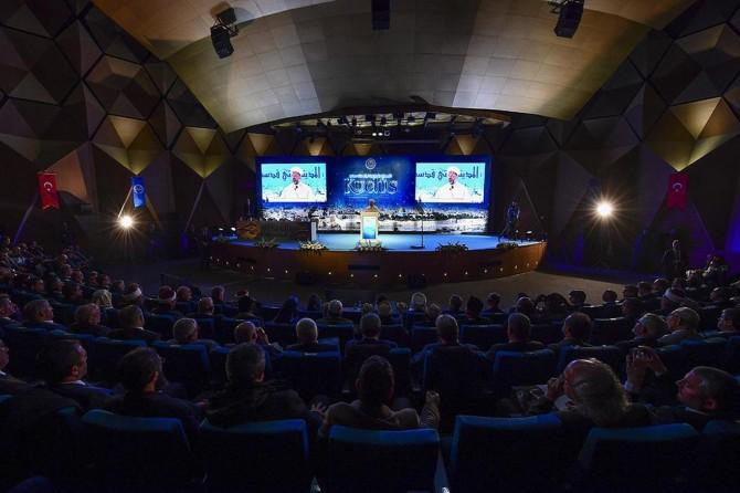 """Uluslararası """"Vahyin Kutsadığı Şehir: Kudüs"""" toplantısı"""