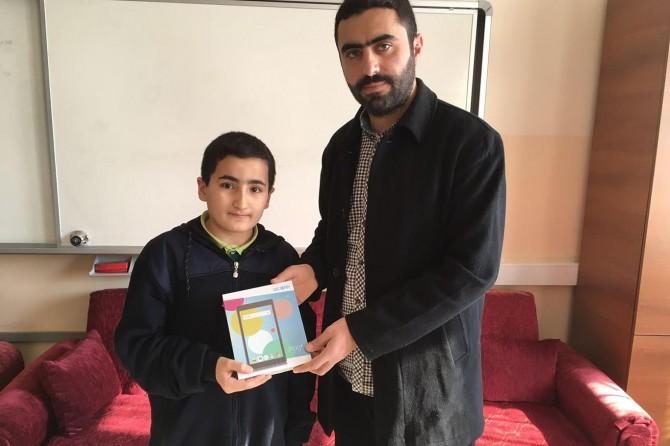 Solhan'da 'Meal Sınavı'nda dereceye girenlere ödülleri verildi