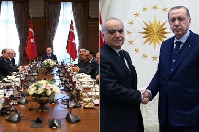 Cumhurbaşkanı Erdoğan BM temsilcisi ve Lordlar Kamarası heyetini kabul etti