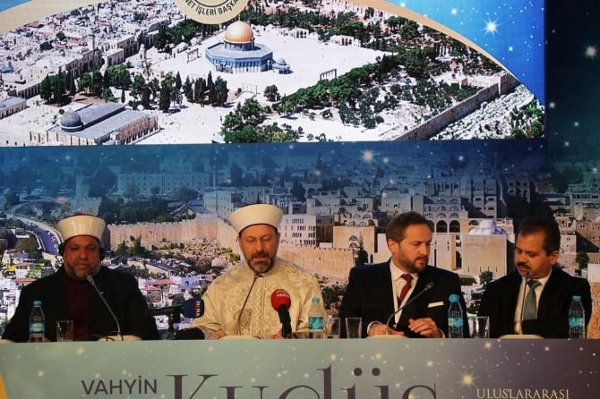 Vahyin Kutsadığı Şehir: Kudüs toplantısı sona erdi
