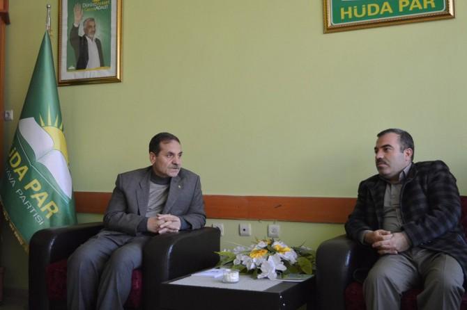 Din-Bir-Sen'den HÜDA PAR'a ziyaret