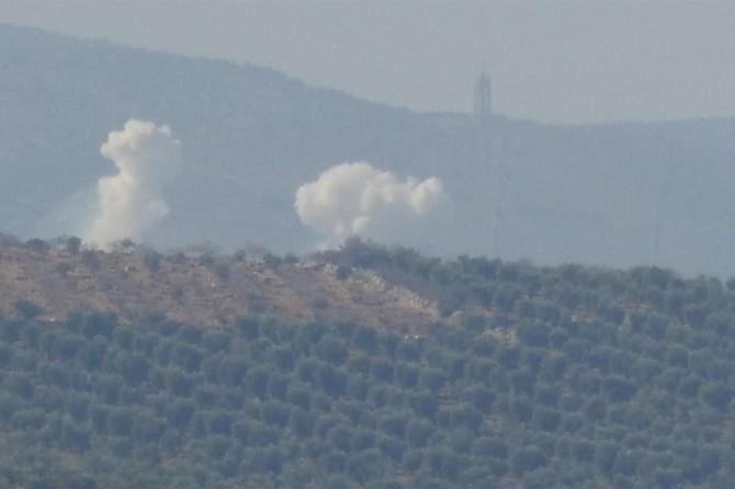 PKK mevzileri havadan bombalanıyor