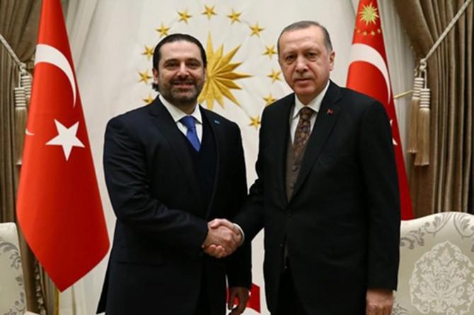 Cumhurbaşkanı Erdoğan Hariri'yi kabul etti