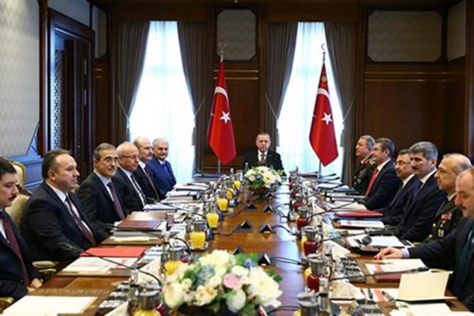 Komîteya Îcraya Pîşêsazîya Parastinê di bin serokatîya Serokomar Erdogan de civîya