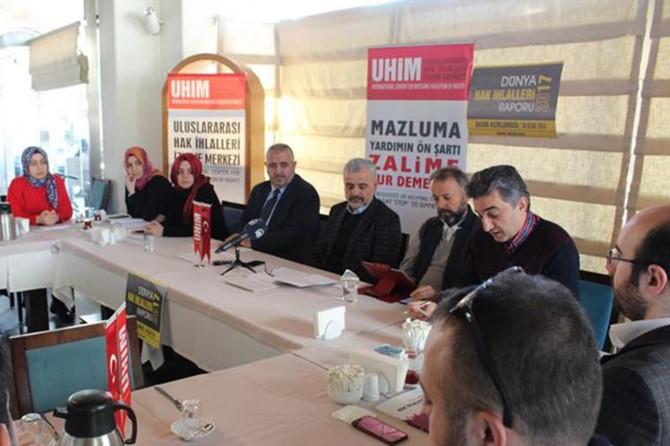"""UHİM 2017 yılı """"Dünya Hak İhlalleri Raporu"""" nu yayımladı"""