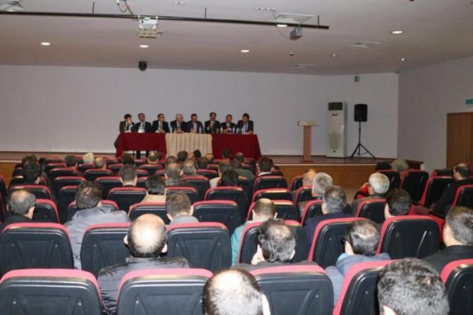 Okul yöneticileri 2'inci dönem değerlendirme toplantısı yapıldı