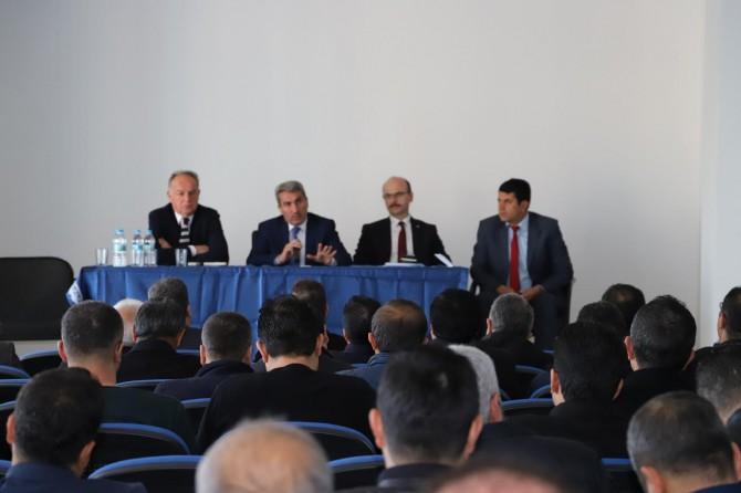 Mardin'de okul müdürleri toplantısı yapıldı