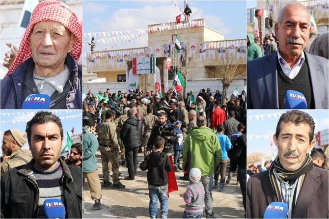 Suriyeliler huzur içinde yaşamak istiyor