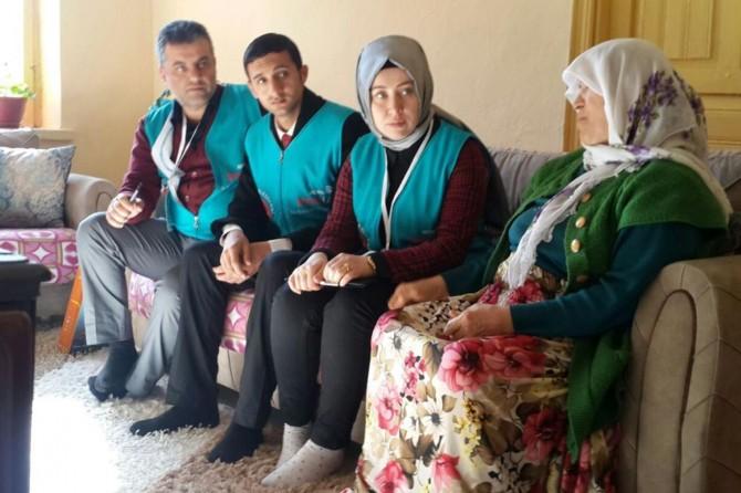 Mobil İpek Masa ekibi ziyaretleri sürüyor