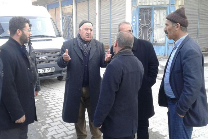 HÜDA PAR İpekyolu İlçe Teşkilatı esnafı ziyaret etti