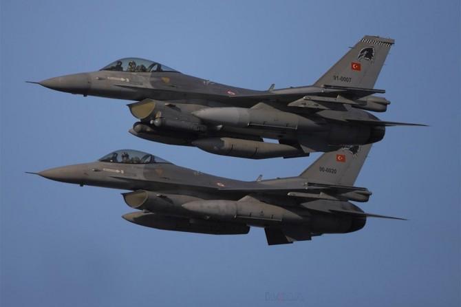 TSK: Afrin'de 15 hedef vuruldu