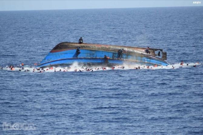 Immigrant boat capsizes: 90 dead