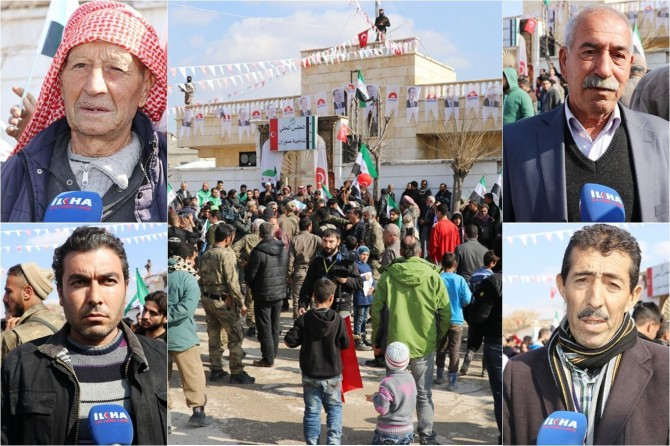 Syrians want to live in peace
