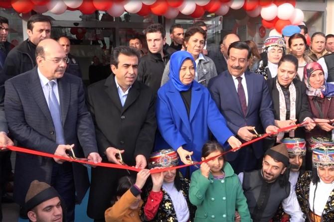 Çalık, kadın kültür ve sanat merkezi açılışına katıldı