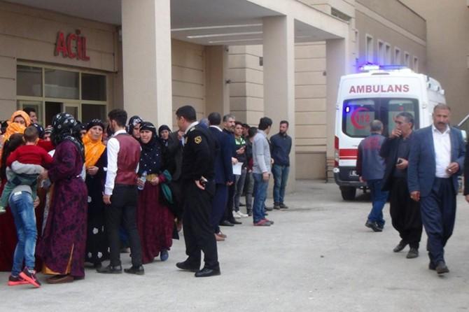 Siverek'te hüğünde havaya ateş açıldı: 2 çocuk yaralı