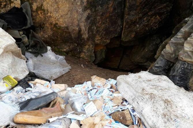 Tunceli'de PKK'ye ait 5 sığınak bulundu