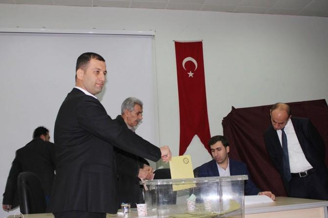 Nusaybin esnafı yeni başkanını seçti