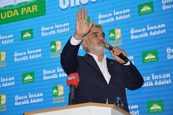 HÜDA PAR Adana 2'nci Olağan Kongresi yapıldı
