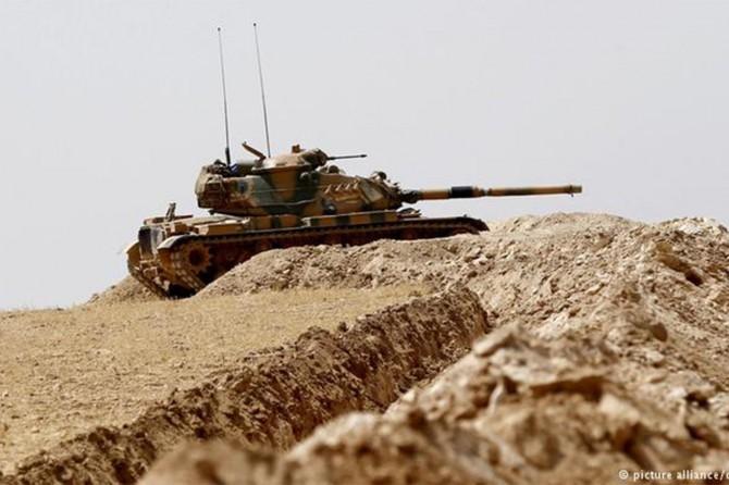 TSK: Afrin'de bir tank daha isabet aldı