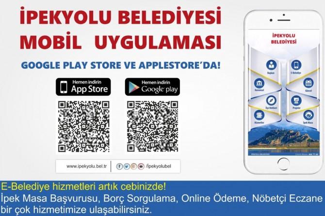 İpekyolu Belediyesi artık mobil uygulamalarda