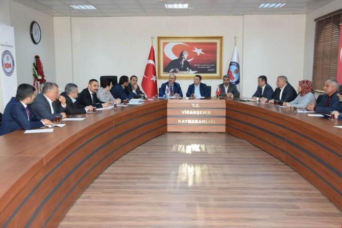 Viranşehir'de tapulaştırma toplantısı düzenlendi