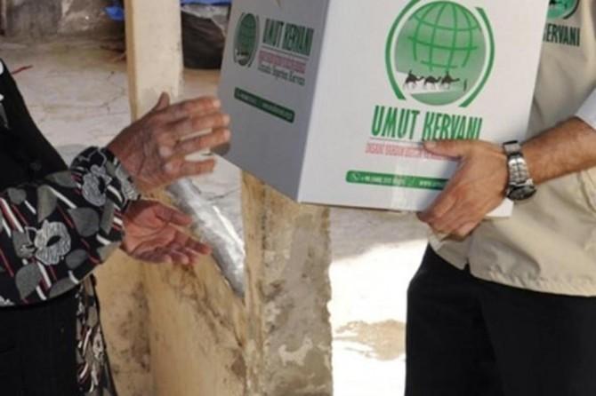 Umut Kervanı Diyarbakır'da yardımlarını sürdürüyor