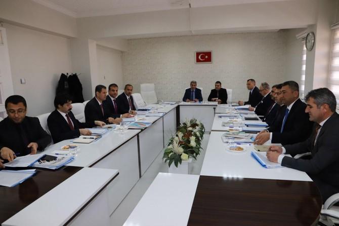 Mardin'de milli eğitim müdürleri toplantısı
