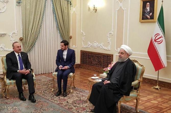 Iranian President Rouhani receives Minister Çavuşoğlu