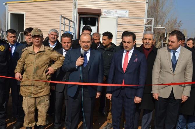 Güroymak'ta mezbahane açıldı