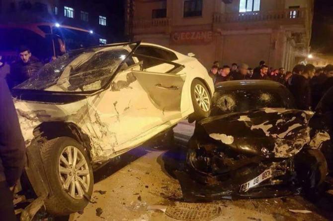 Midyat'ta kaza: 5 yaralı