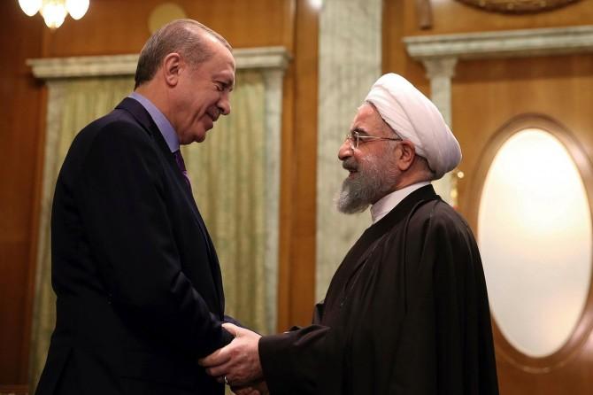 Serokomar Erdogan bi Ruhanî re hevdîtin kir