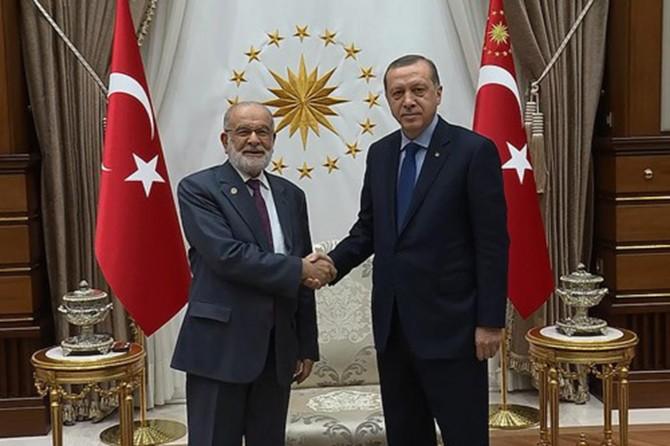 Erdoğan Karamollaoğlu'yla görüşecek