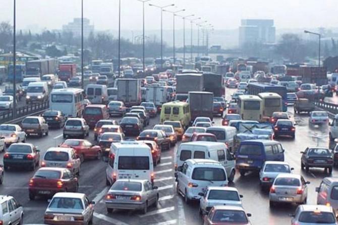 Trafiğe kayıtlı taşıt sayısı 22 milyonu geçti