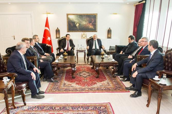Müsteşar Yardımcısı Yücel Vali Zorluoğlu'nu ziyaret etti