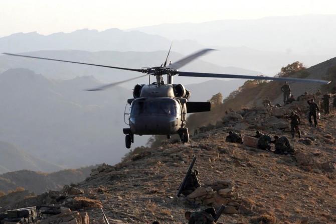 Hakkari'deki operasyonda bir PKK'li öldürüldü