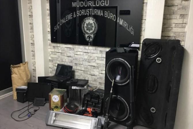 Gaziantep'te 3 kişi hırsızlıktan tutuklandı